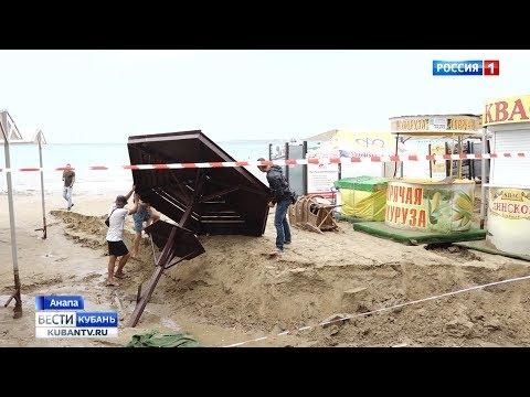 Краснодарский край оказался во власти мощного циклона
