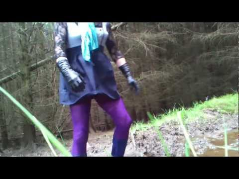 Pinkyboots In The Woods.3gp video