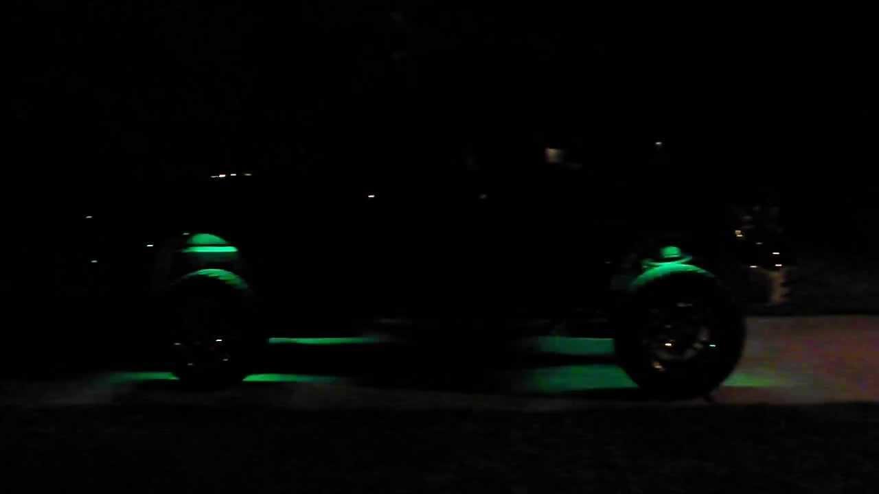 Led Glow Wheel Well Lights Dodge Ram 1500 Big Horn Youtube