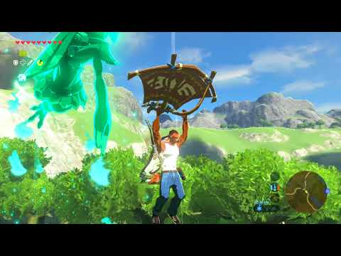 Zelda: Breath of the Wild - Carl Johnson meets Hyrule