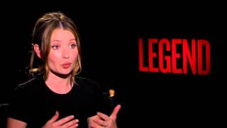 Legend: Emily Browning Official Movie Interview