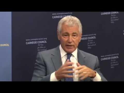 Chuck Hagel: Honesty & the U.S.-Israeli Relationship