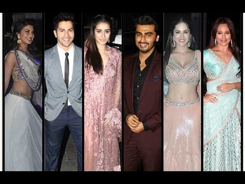 Tulsi Kumar Wedding Reception│sunny Leone, Vidya Balan, Arjun Kapoor video