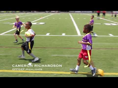 Cameron Richardson - Football Highlights