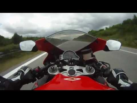 CBR 1000RR on the Autobahn