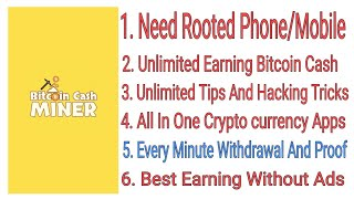 Earn Unlimited Bitcoin Cash Tricks
