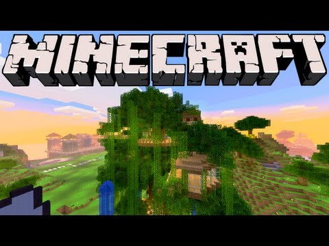 Minecraft - Giant Tree and Underground City