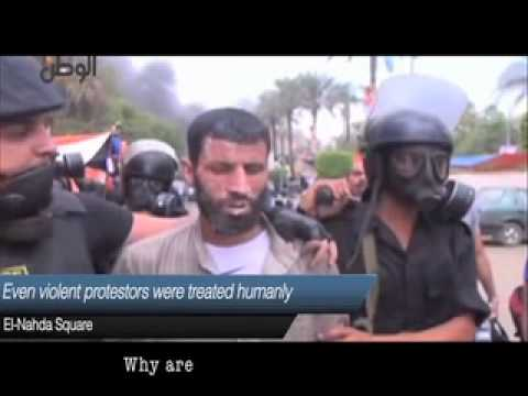 Egypt teaching a lesson in human rights