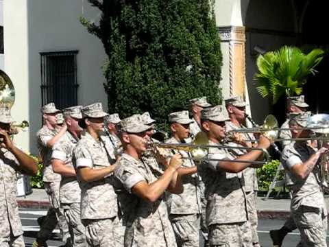 USMC Marching Band Kamehameha 2009 Honolulu 'Oahu Hawai'i
