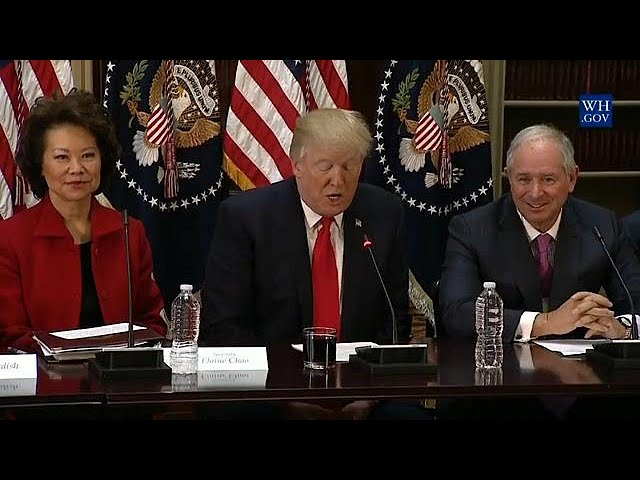 Trump disbands business councils after CEOs quit