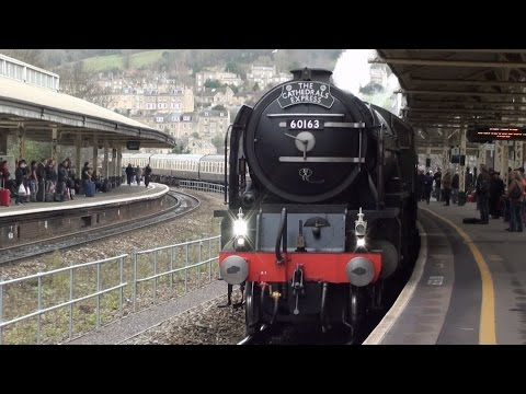2011 REVIEW - Steam Trains through Bath 2011.mp4 Music Videos