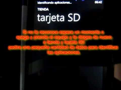 Nokia Lumia 520.620.720... Instalacion de juegos y app a desde SD