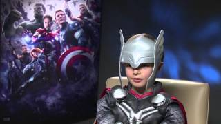 Marvel's Avengers: Age of Ultron - Mini Thor Meets Black Widow & The Hulk  - OFFICIAL | HD