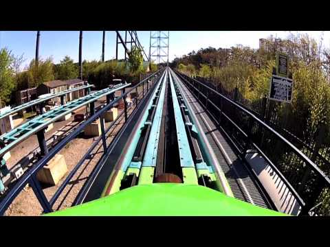 Official Kingda Ka Ride Video 2013 with Front Seat POV at Six Flags Great Adventure