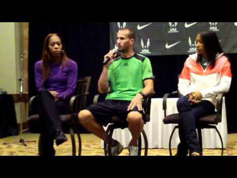 2011 USA Track & Field Championships: Felix, Richards, Wariner Press Conference