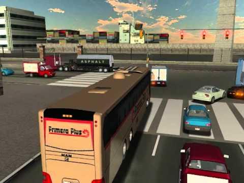 18 wheels of steel  haulin  TEAM BUS  MEXICO  (primera plus)