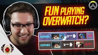 FUN playing OVERWATCH? What?!