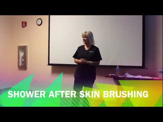 Skin Brushing To Detox The Body