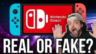 July 2018 Nintendo Direct LEAK - REAL or FAKE? | RGT 85