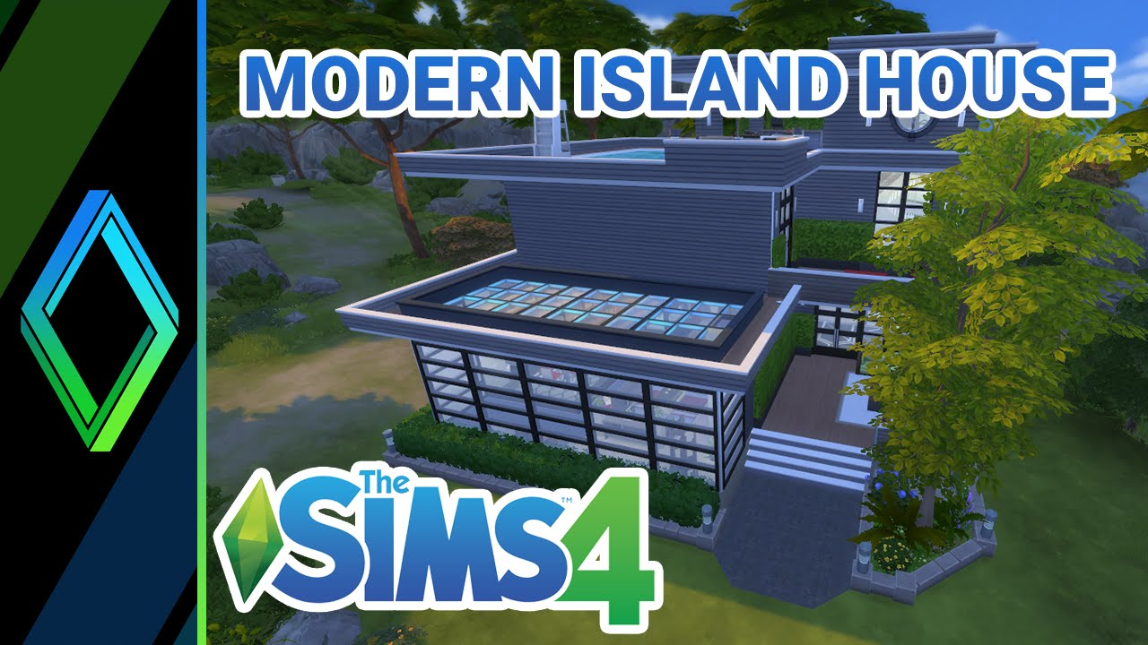 The Sims 4 House Building - Modern Island Home
