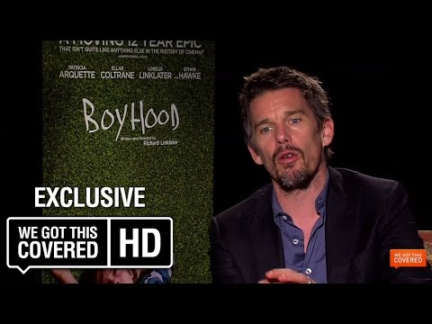 Boyhood Interview With Ethan Hawke, Richard Linklater, Ellar Coltrane And Patricia Arquette [HD]