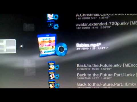 how to connect media server ps3