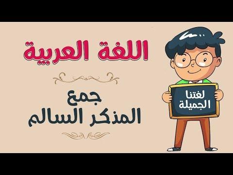 اللغة العربية | جمع المذكر السالم