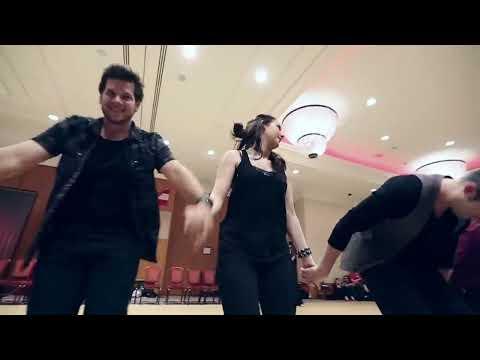 Jordan Frisbee & Tatiana Mollmann Bennet Pro-Impro at Budafest 2014