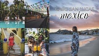 Cabo San Lucas Vlog + Mini Spring Lookbook