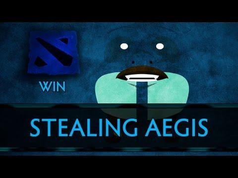Dota 2 Win - Stealing Aegis