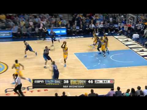 Dallas Mavericks vs Denver Nuggets   March 5, 2014   NBA 2013-14 Season