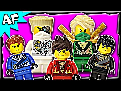 Lego Ninjago Rebooted Minifigures 2014 Complete Collection video
