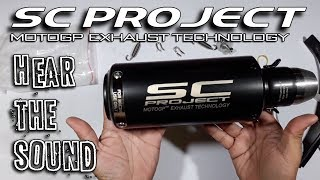 SC Project MotoGP exhaust technology - Hear the Sound at Ninja 300 - Replica