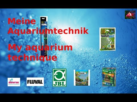 Meine Aquarium Technik /  My aquarium technique