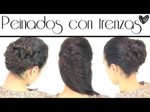 Peinados de trenzas | Hairdos with braids