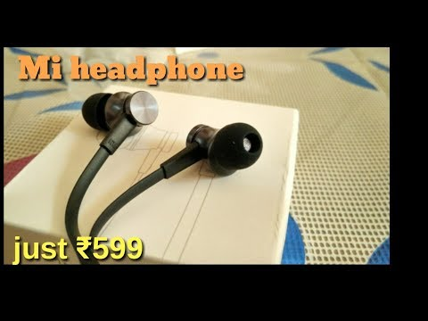 Mi In-ear Headphones Basic|best headphone under 600|unboxing and review|technical Rishi