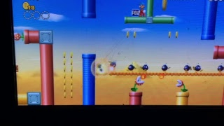 New super Mario Bros wii live
