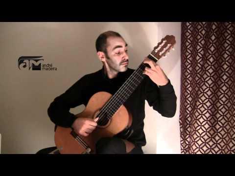 Big Guitar III - Primavera Porteña - A. Piazzolla (arr. S. Assad) - André Madeira