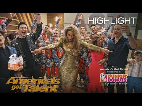 Dunkin' Lounge - Live Finale - America's Got Talent 2018