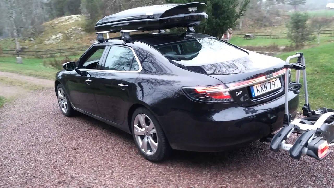 Rdx Acura 2014 >> Saab 9-5 2010 Thule - YouTube