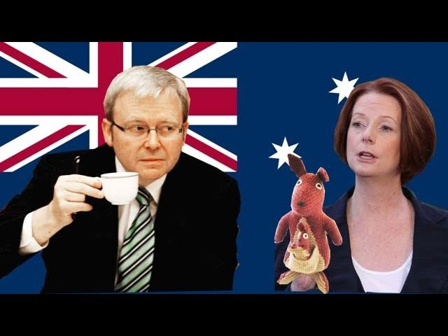 Julia Gillard vs Kevin Rudd: backstabbers, bloody coups and royal kangaroos