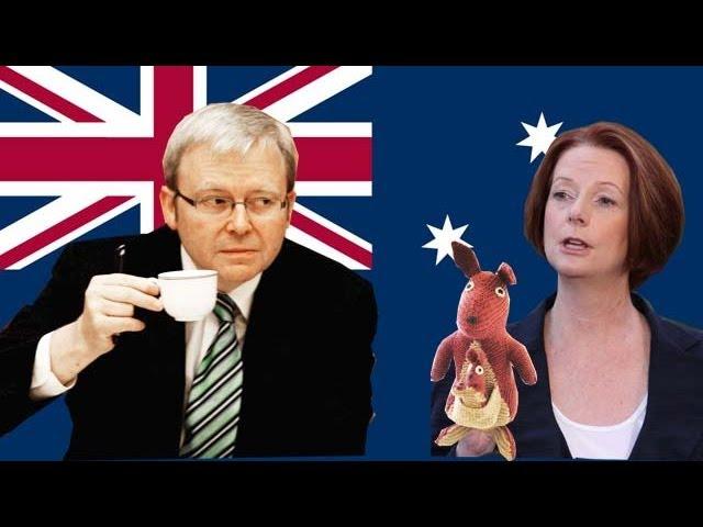 Julia Gillard vs Kevin Rudd: backstabbers, bloody coups and royal kangaroos