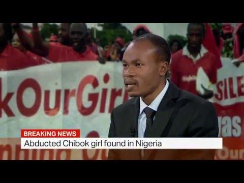 Missing Nigerian Chibok school girl abducted by Boko Haram found