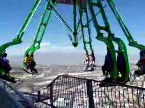 Crazy Ride 909 Ft Above The Ground Youtube