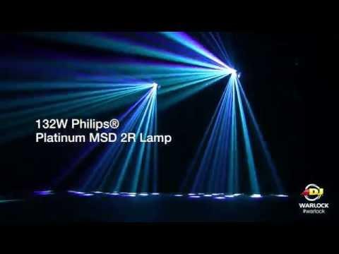 American DJ Warlock Effect Light