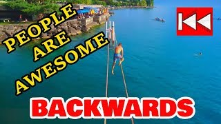 People Are Awesome -  BACKWARDS | Приколы