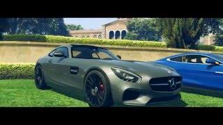 GTA 5 | AMG GT - Porsche 918 - Aston Martin Vanquish | Game Azure