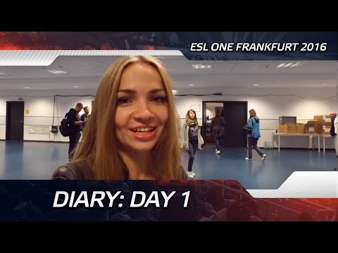 Diary: Day 1 @ ESL One Frankfurt 2016 (ENG SUBS)