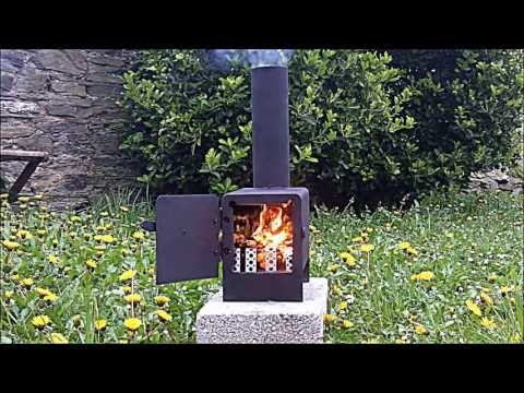 Rocket Stove mini wood burner