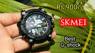 Timewear Skmei Military Series Analogue Digital Black Dial Watch For Men & Boys unboxing & Review